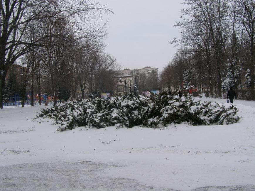 Зима по-Красноармейски. По прогнозам синоптиков снег сегодня будет идти весь день, фото-12