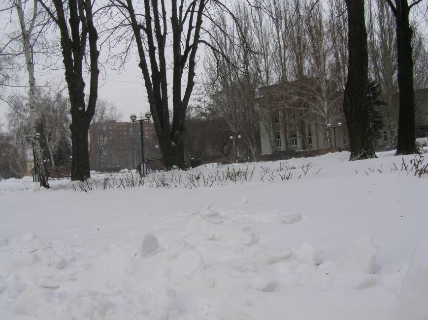 Зима по-Красноармейски. По прогнозам синоптиков снег сегодня будет идти весь день, фото-5