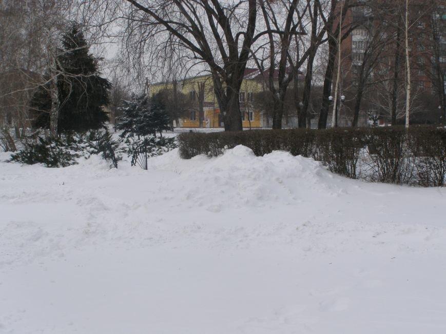 Зима по-Красноармейски. По прогнозам синоптиков снег сегодня будет идти весь день, фото-11