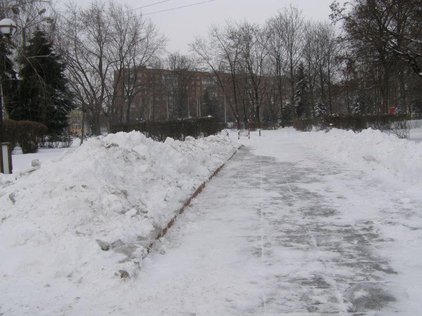 Зима по-Красноармейски. По прогнозам синоптиков снег сегодня будет идти весь день, фото-9