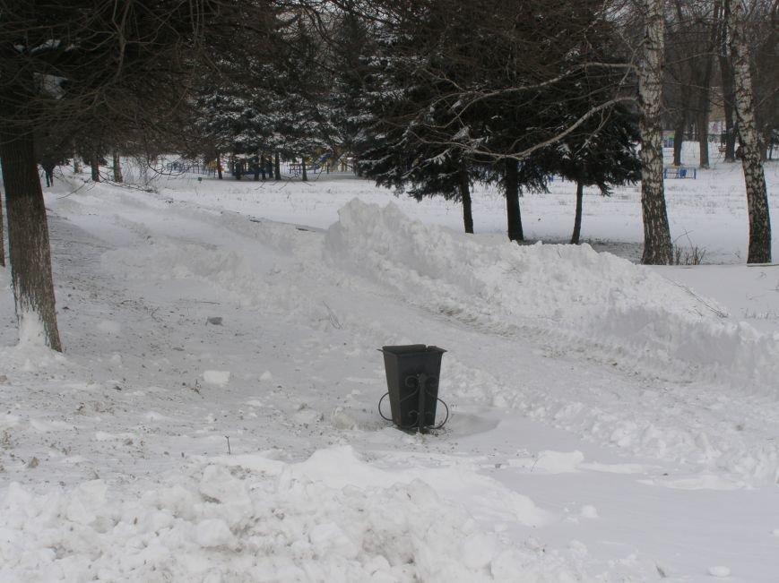 Зима по-Красноармейски. По прогнозам синоптиков снег сегодня будет идти весь день, фото-16