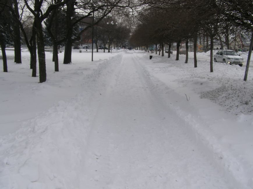 Зима по-Красноармейски. По прогнозам синоптиков снег сегодня будет идти весь день, фото-13