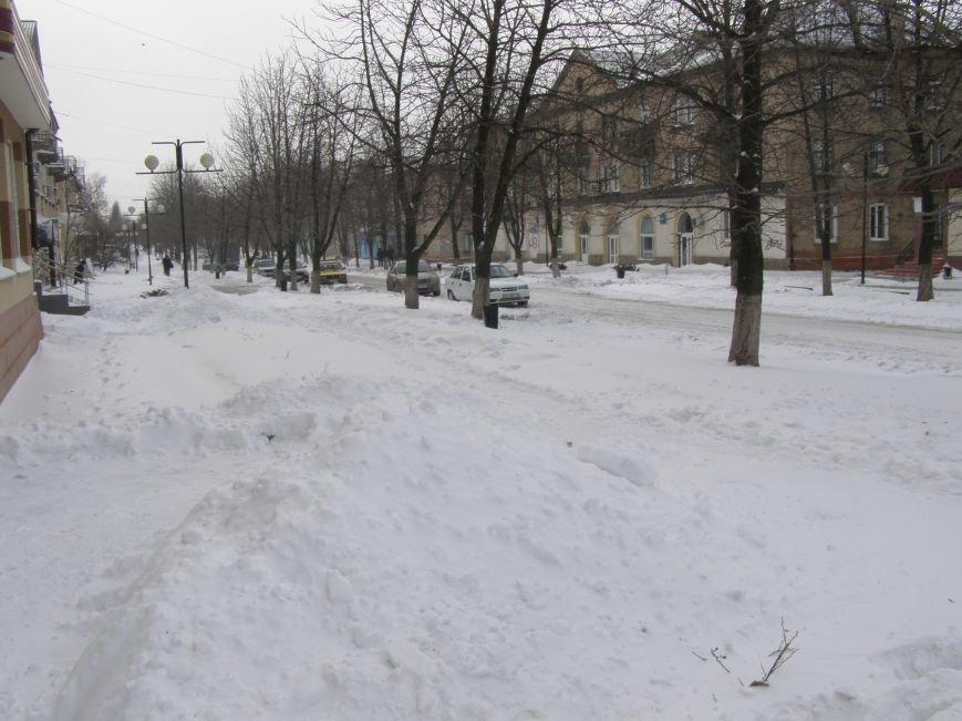 Зима по-Красноармейски. По прогнозам синоптиков снег сегодня будет идти весь день, фото-3