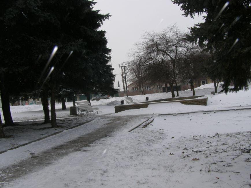 Зима по-Красноармейски. По прогнозам синоптиков снег сегодня будет идти весь день, фото-22