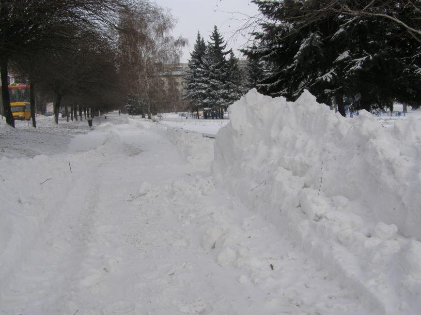 Зима по-Красноармейски. По прогнозам синоптиков снег сегодня будет идти весь день, фото-18