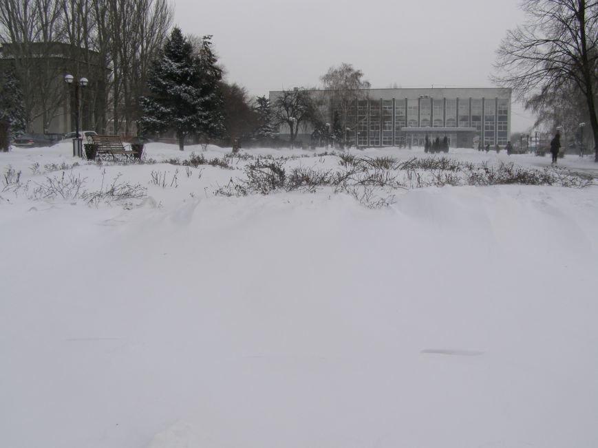 Зима по-Красноармейски. По прогнозам синоптиков снег сегодня будет идти весь день, фото-8