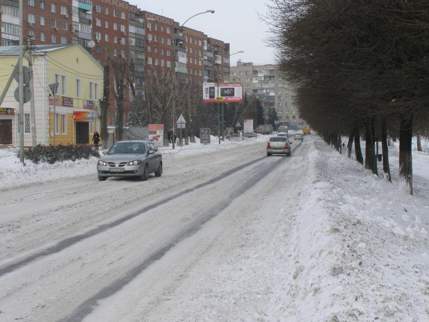 Зима по-Красноармейски. По прогнозам синоптиков снег сегодня будет идти весь день, фото-17
