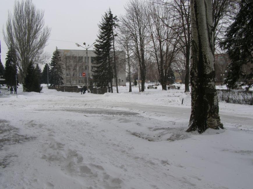 Зима по-Красноармейски. По прогнозам синоптиков снег сегодня будет идти весь день, фото-1