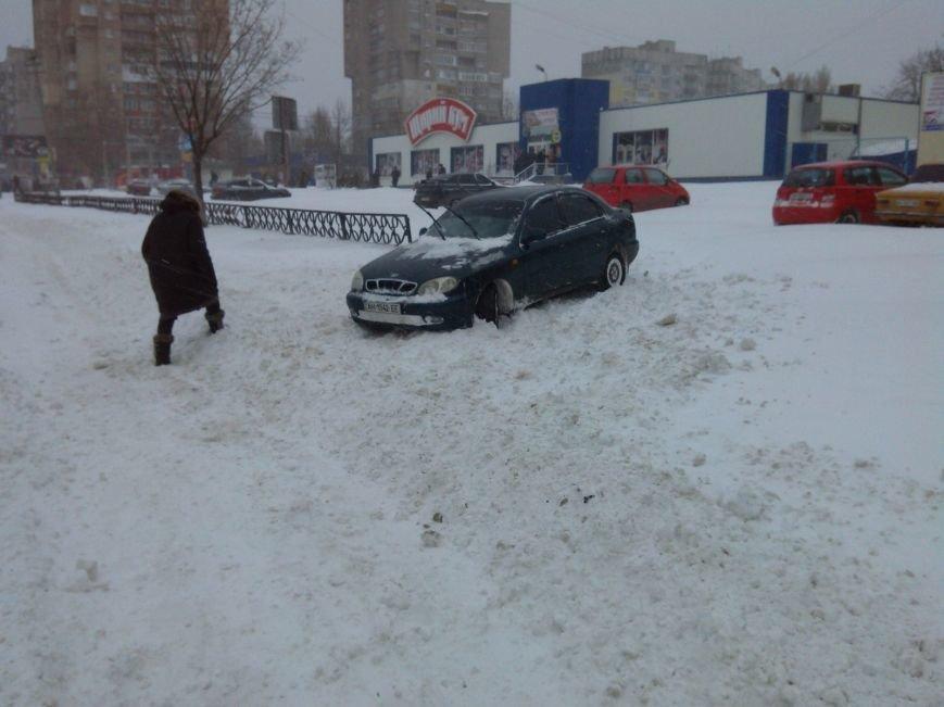 В Мариуполе снег завалил спальные микрорайоны (Фотофакт), фото-3