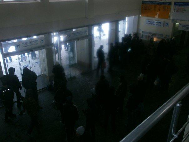 Дождались! Мариупольских делегатов антимайдана встречала коммунальная техника (Фоторепортаж), фото-9