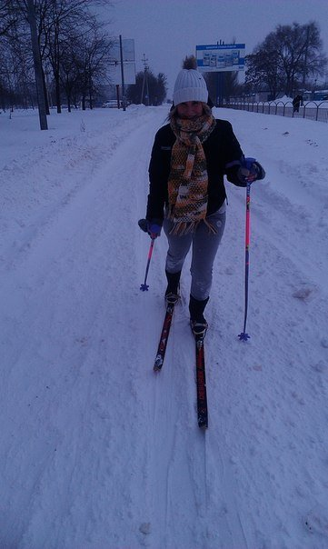 В Мариуполе коллеги отправились на работу на лыжах (Фотофакт), фото-2