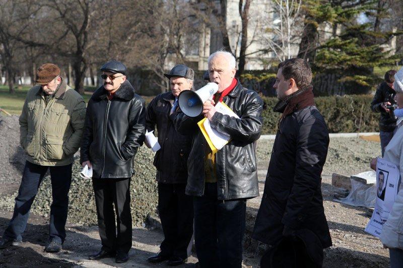 ФОТОФАКТ: Симферопольские националисты оконфузились на собственном митинге, фото-4