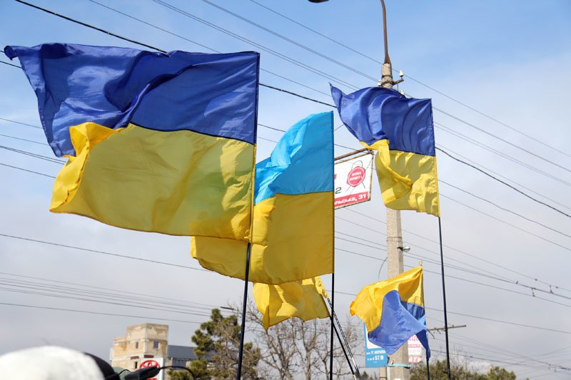 ФОТОФАКТ: Симферопольские националисты оконфузились на собственном митинге, фото-2