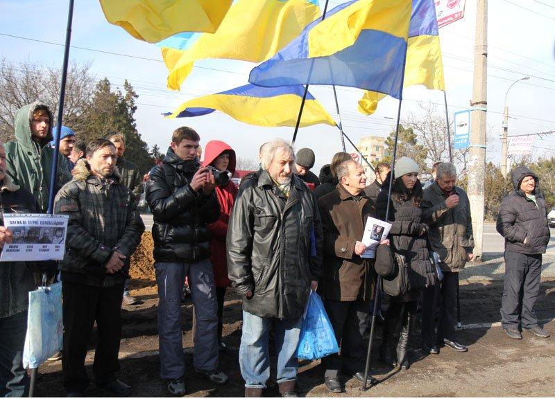 ФОТОФАКТ: Симферопольские националисты оконфузились на собственном митинге, фото-3