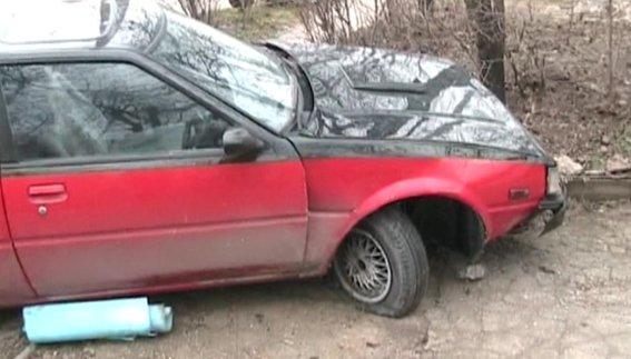 ДТП в Симферополе: пьяная блондинка на иномарке сбила двух пешеходов (ФОТО), фото-2