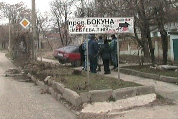 ДТП в Симферополе: пьяная блондинка на иномарке сбила двух пешеходов (ФОТО), фото-1