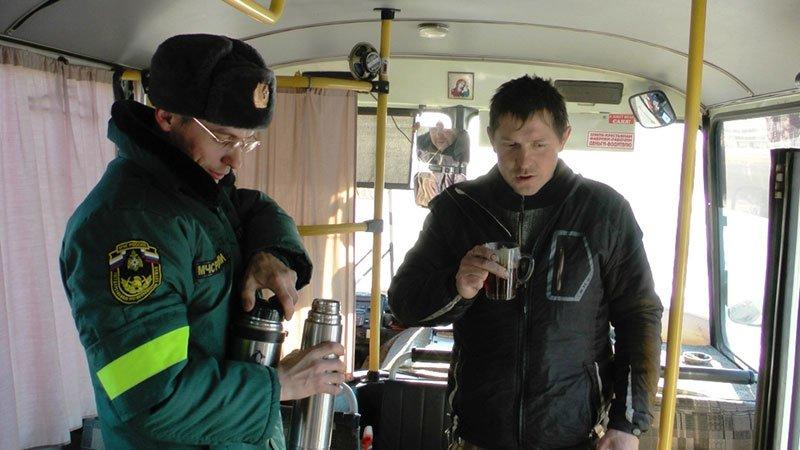 МЧС: Вдоль белгородских трасс работают пункты помощи водителям, фото-1