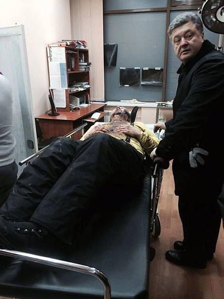 Нашелся лидер автомайдана Дмитрий Булатов. Его неделю пытали, отрезали ухо, а после  выбросили возле дороги (ФОТО 18+), фото-2
