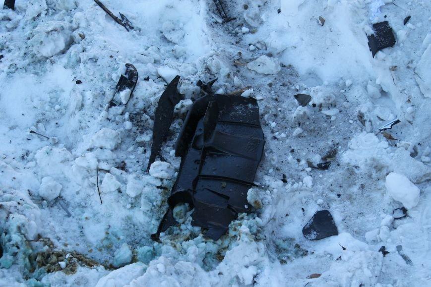 Загадочная авария в центре Сум: сломано дерево и столб (ФОТО), фото-5