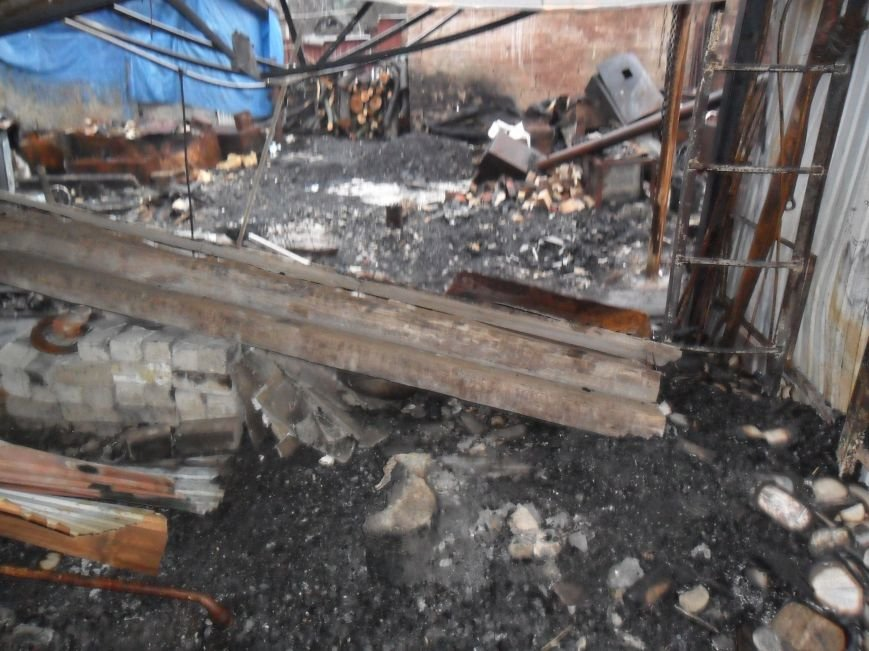 после пожара у Трухан