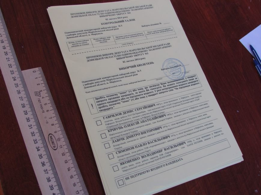 В Мариуполе стартовали промежуточные выборы (Дополнено, ФОТО), фото-8