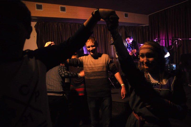 Целый вечер музыканты белгородской группы «Finium» «тянули» волынку, фото-1