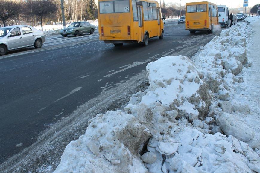 Сумской «Дорремстрой» плохо посыпает дороги, чтобы не испортить асфальт (ФОТО), фото-2