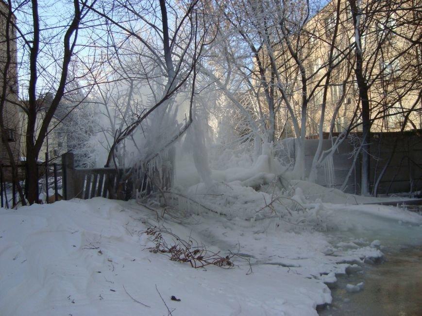В центре Мариуполя забил зимний фонтан (ФОТО), фото-2