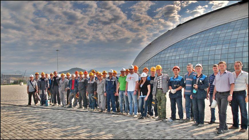 Таганрогский след на строительных объектах Олимпиады Сочи-2014 (Интервью), фото-16