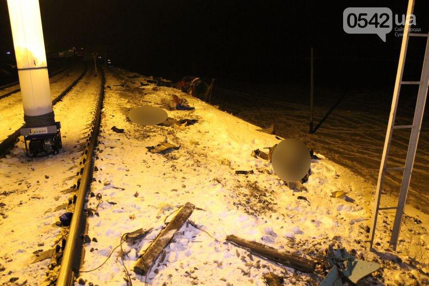 В Сумах водитель маршрутки засмотрелся и угодил под поезд: 12 жертв (ФОТО+ВИДЕО) (ОБНОВЛЕНО), фото-3
