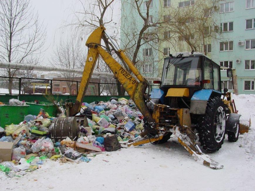Районы Простоквашино и Русское поле в Таганроге сегодня  избавляются от мусора, фото-1