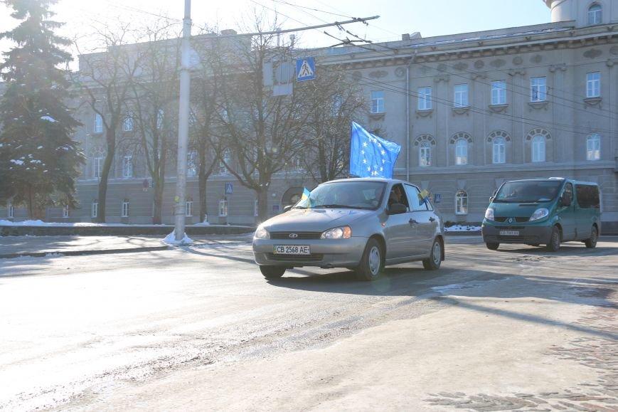 Черниговские «автомайдановцы» поддержали столичных … автопробегом (ОБНОВЛЕНО), фото-28