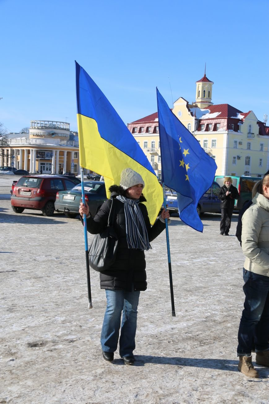 Черниговские «автомайдановцы» поддержали столичных … автопробегом (ОБНОВЛЕНО), фото-13