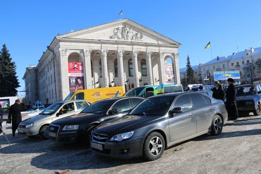 Черниговские «автомайдановцы» поддержали столичных … автопробегом (ОБНОВЛЕНО), фото-1