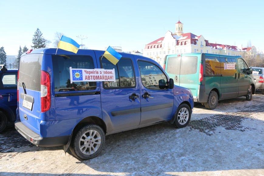 Черниговские «автомайдановцы» поддержали столичных … автопробегом (ОБНОВЛЕНО), фото-9