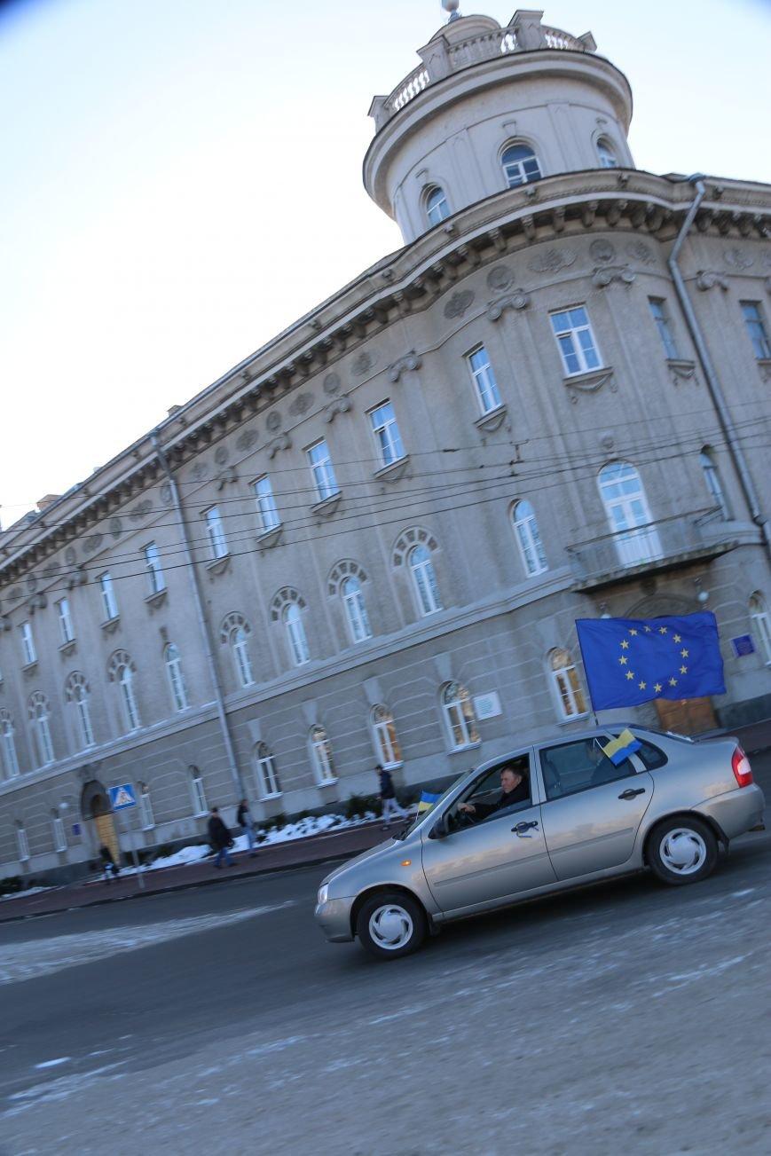 Черниговские «автомайдановцы» поддержали столичных … автопробегом (ОБНОВЛЕНО), фото-30