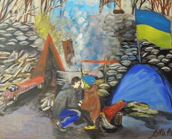 Влюбленные на Майдане