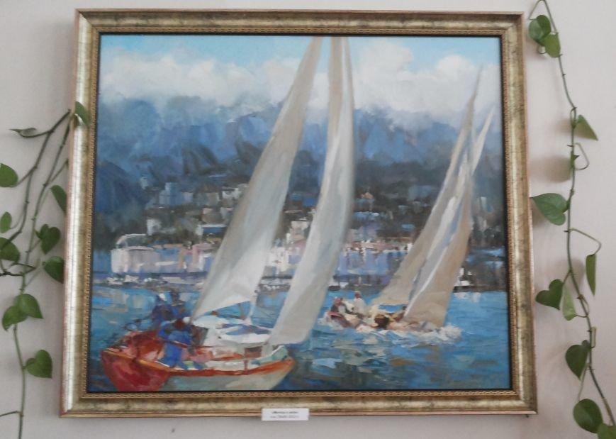 Молодая крымская художница показала в Симферополе «Свет живописи» (ФОТО), фото-2