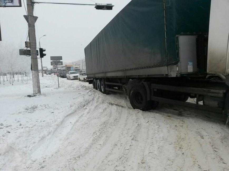 8 дней спустя! На дорогах Мариуполя аварии и заторы (ФОТО), фото-2