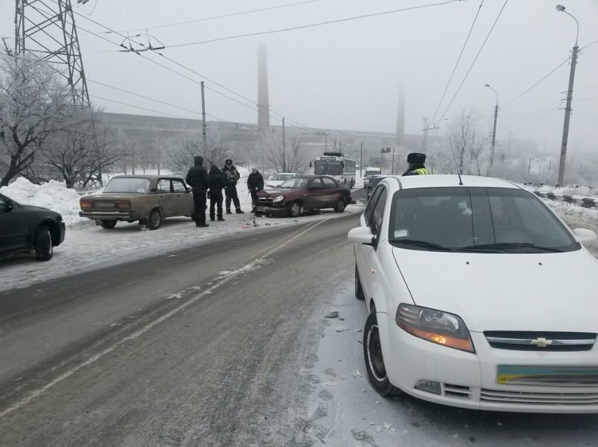 8 дней спустя! На дорогах Мариуполя аварии и заторы (ФОТО), фото-9