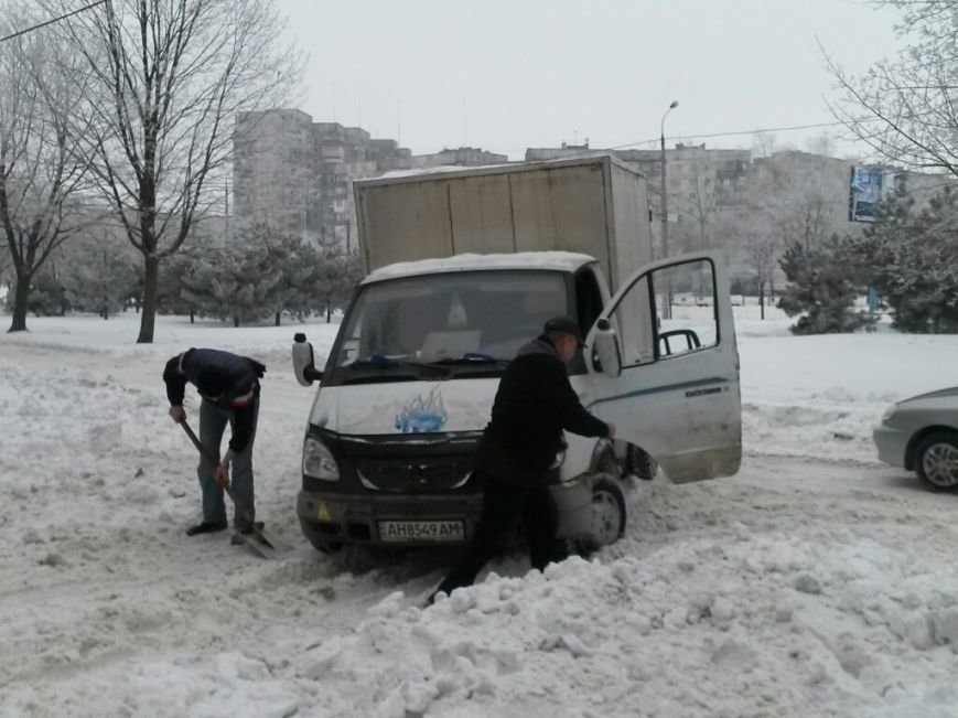 8 дней спустя! На дорогах Мариуполя аварии и заторы (ФОТО), фото-4
