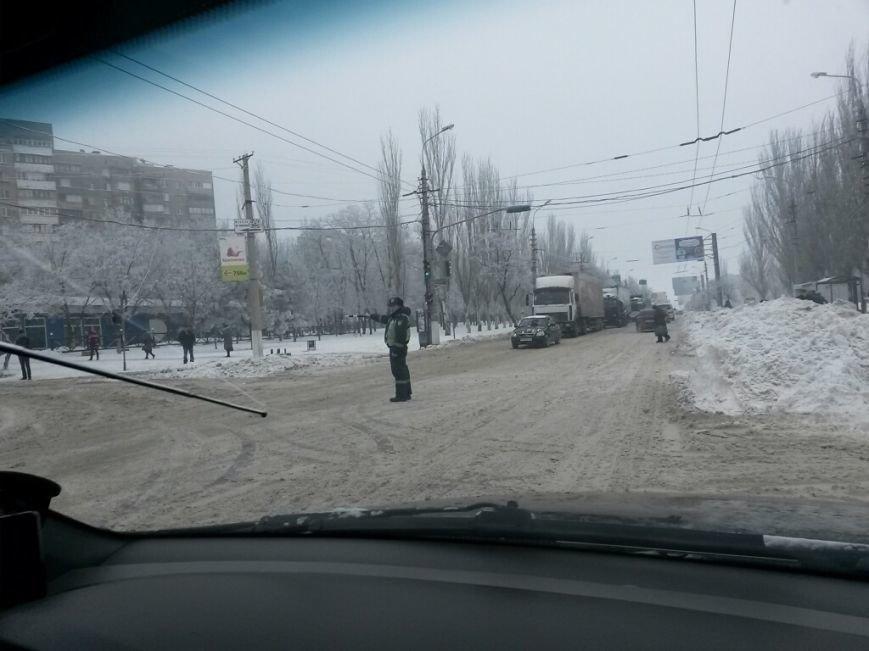 8 дней спустя! На дорогах Мариуполя аварии и заторы (ФОТО), фото-3