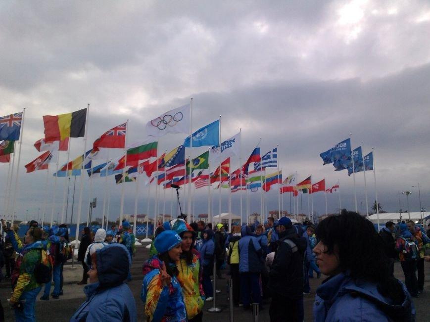 Сегодня , на стадионе Фишт, состоится Церемония открытия XXII Зимних Олимпийских игр. (Фото волонтеров Таганрога), фото-1