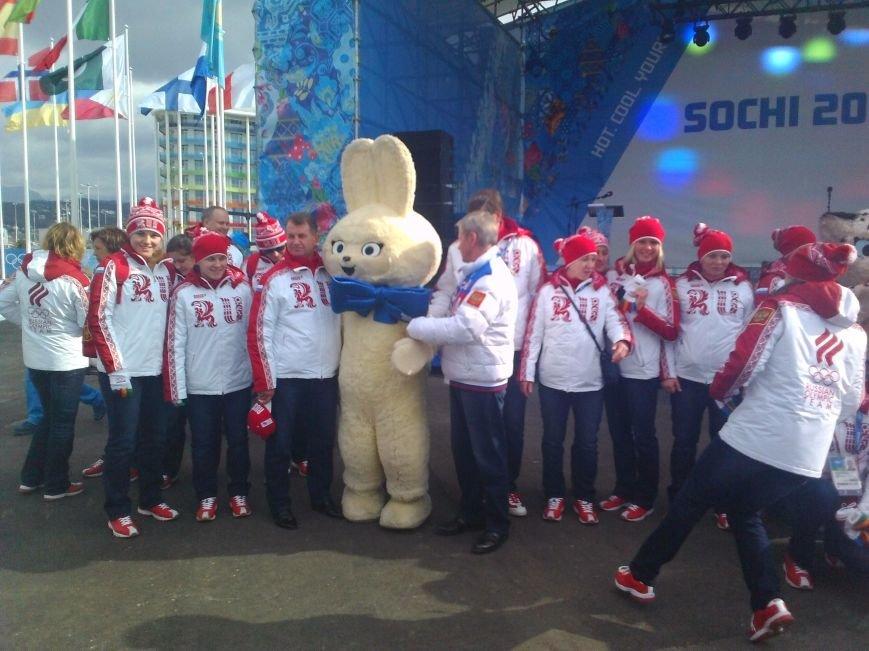 Сегодня , на стадионе Фишт, состоится Церемония открытия XXII Зимних Олимпийских игр. (Фото волонтеров Таганрога), фото-4