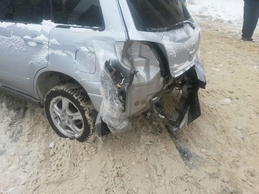 В Мариуполе маршрутка протаранила автомобиль с донецкими ГАИшниками (ФОТО), фото-5