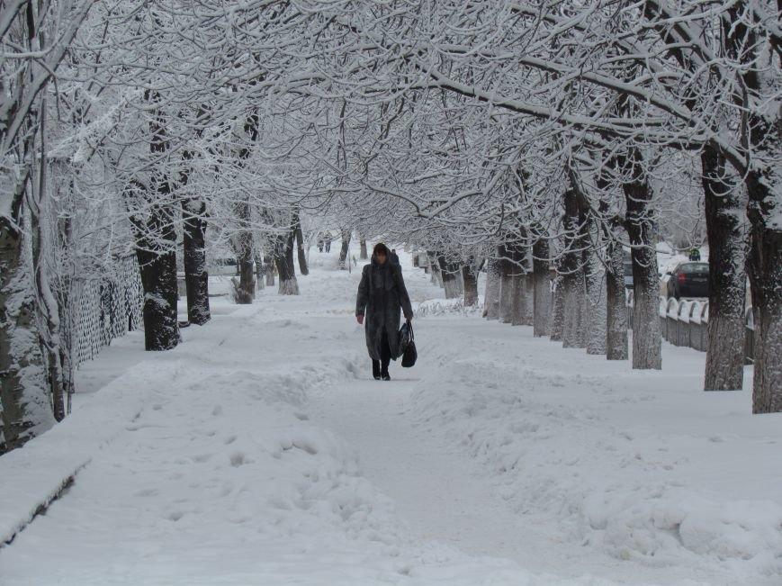 Мариупольцы наслаждаются последними днями зимней сказки (ФОТО), фото-14