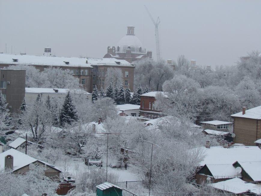 Мариупольцы наслаждаются последними днями зимней сказки (ФОТО), фото-1