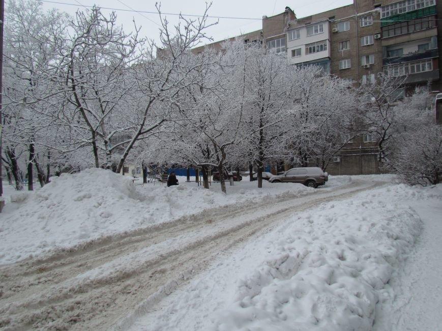 Мариупольцы наслаждаются последними днями зимней сказки (ФОТО), фото-6