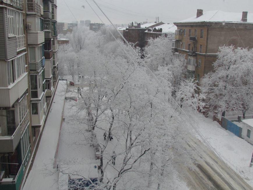 Мариупольцы наслаждаются последними днями зимней сказки (ФОТО), фото-3