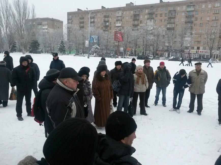 В Мариуполе снова митинговали в поддержку Евромайдана (Фотофакт), фото-2